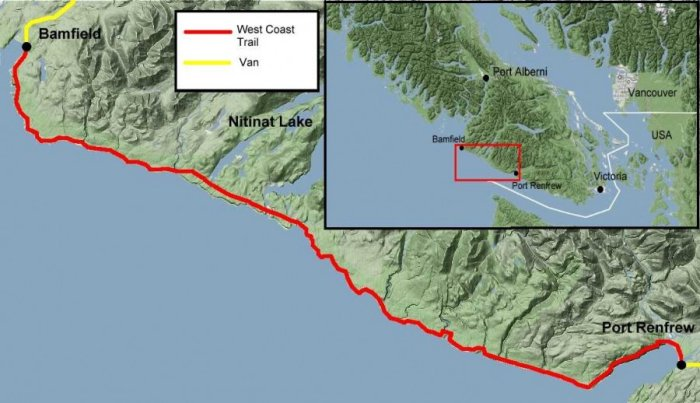Hiking Trails North Vancouver Island