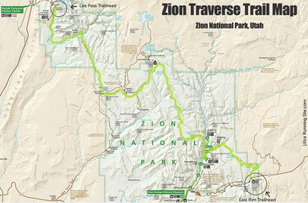 Zion Traverse 2017